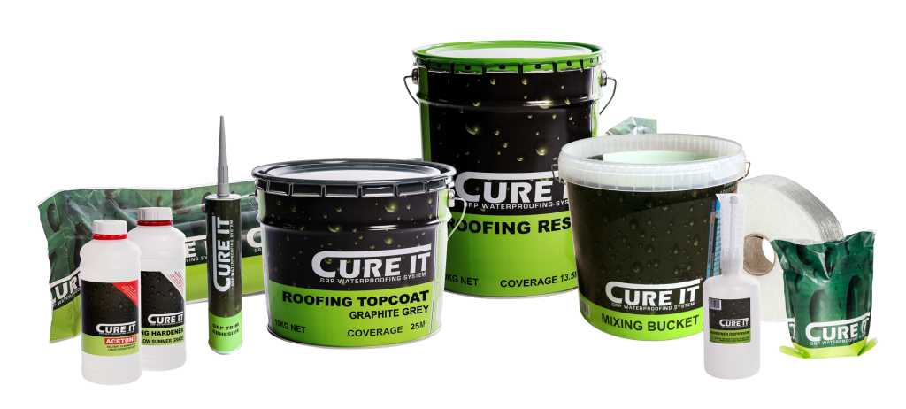 GRP Roofing Supplies - Cure It - Flat Roofing, Fibreglass
